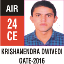 Peeyush Kr. Shrivastav, GATE 2016, RANK 24